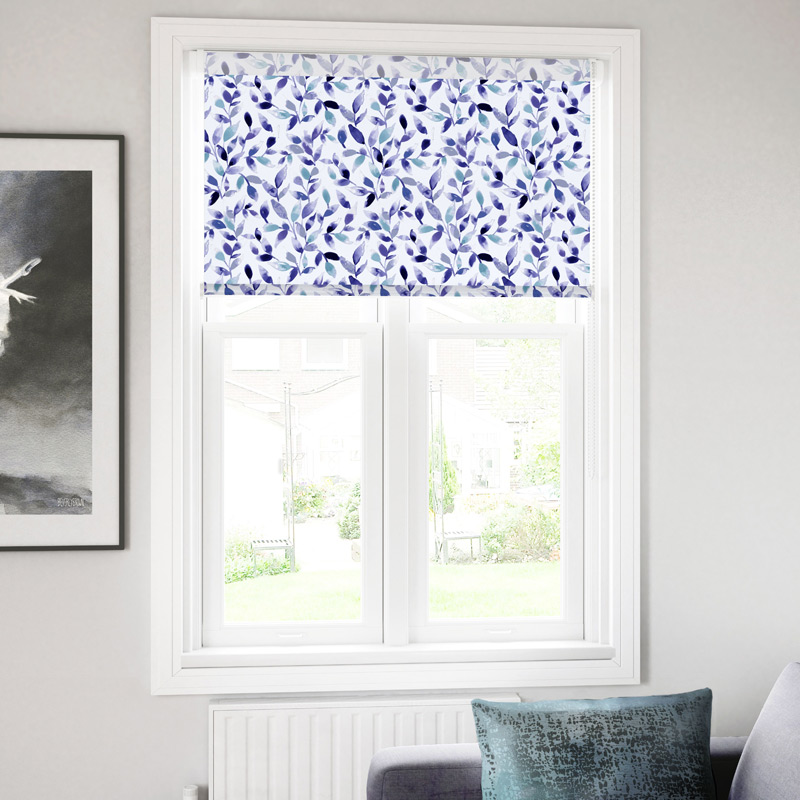 Floral Fabric Roller Blinds